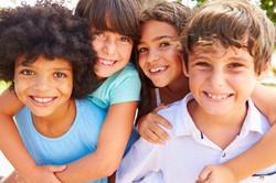 Children of different races.