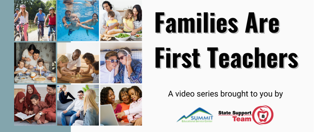 Families are first teachers graphic
