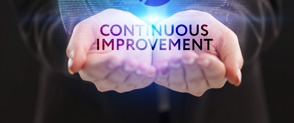 """""""Continuous Improvement"""" in two hands"""
