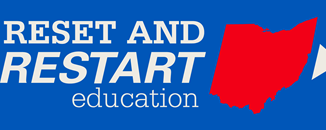 reset and restart education logo
