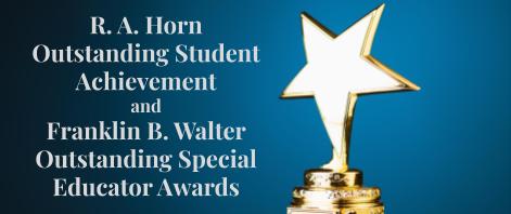 Horn/Walter Award Nominations due February 26, 2021